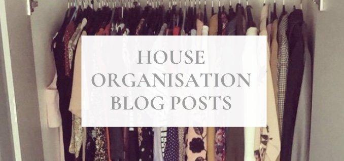house organisation blog posts